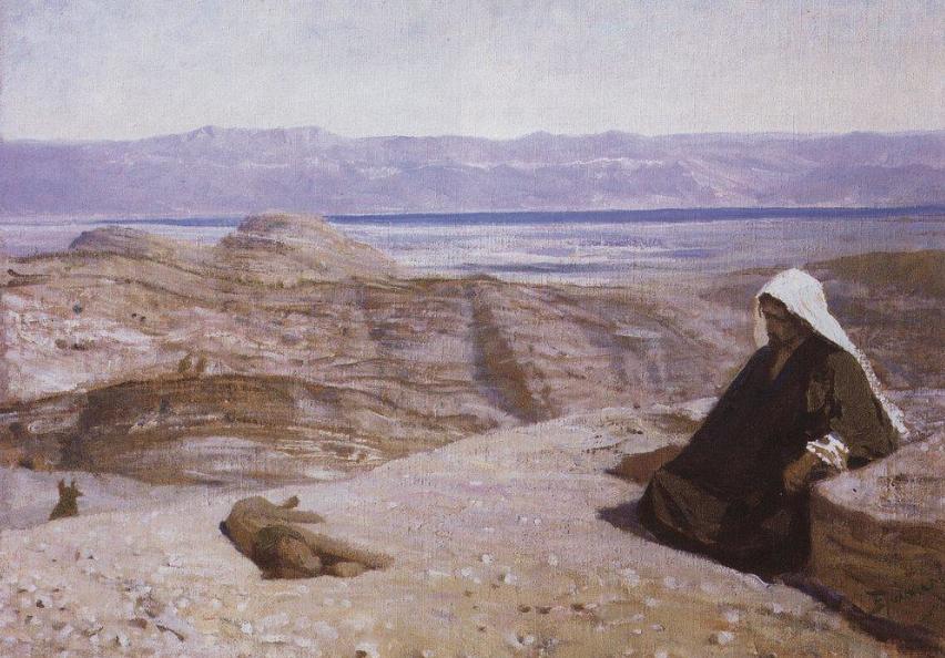 Был в пустыне. Василий Поленов, 1909