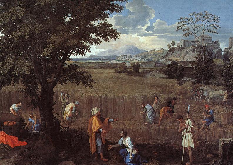 Лето (Боаз и Рут). Николя Пуссен, 1660-1664