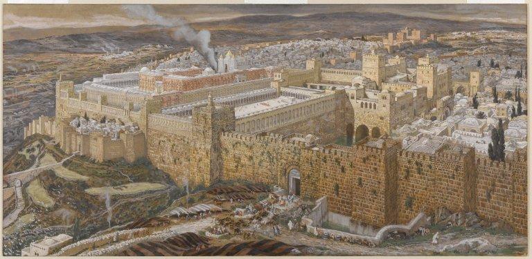 «Второй Иерусалимский Храм», Джеймс Тиссо