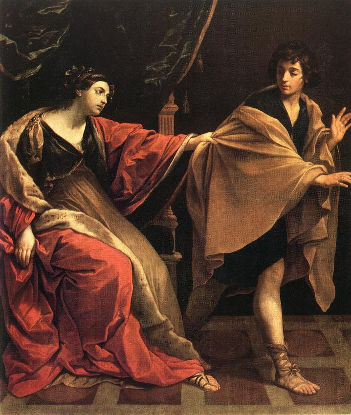 Йосеф и жена Потифара. Гвидо Рени, 1631