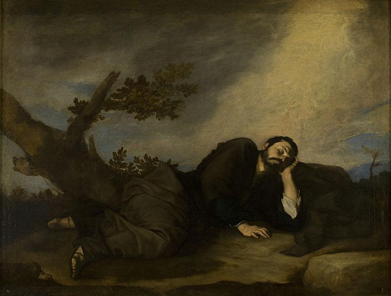 Сон Йаакова. Хосе де Рибера, 1639