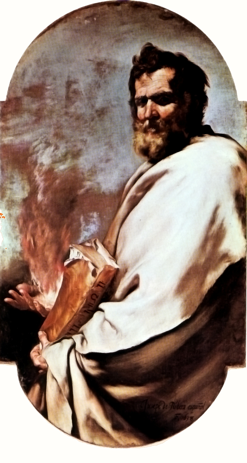 Пророк Элияху. Хосе де Рибера, 1638