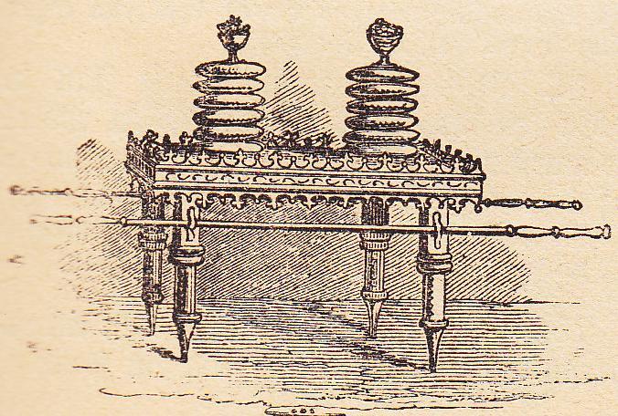 Стол хлебов предложения. Иллюстрация к изданию Библии, 1890
