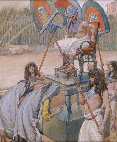 Фараон и повитухи. Джеймс Тиссо, 1896-1902