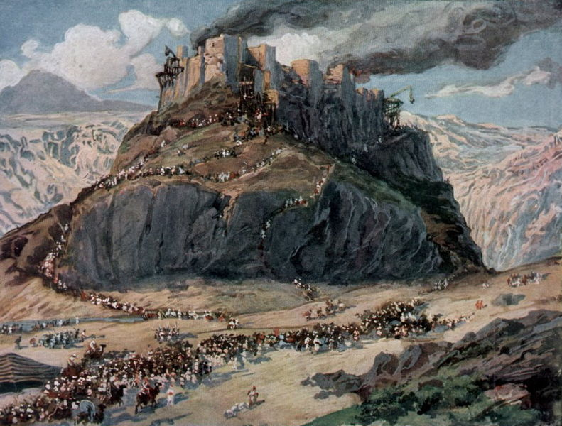 Завоевание земли амореев. Джеймс Тиссо, 1896-1902