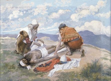 Смерть Аарона. Джеймс Тиссо, 1896-1902
