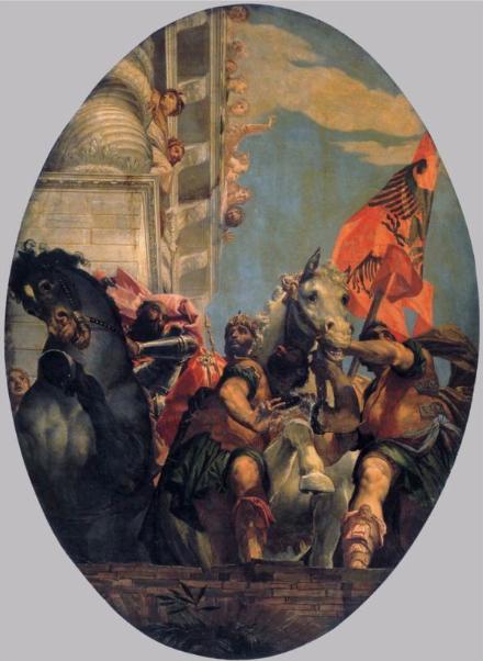 Триумф Мордехая. Паоло Веронезе, 1556